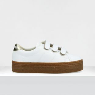 PLATO M STRAPS - SOFT/BLUMY - OFF WHITE/GOLD