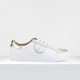 ARCADE SIDE - NAPPA/P.PYTHON - WHITE/L.GOLD