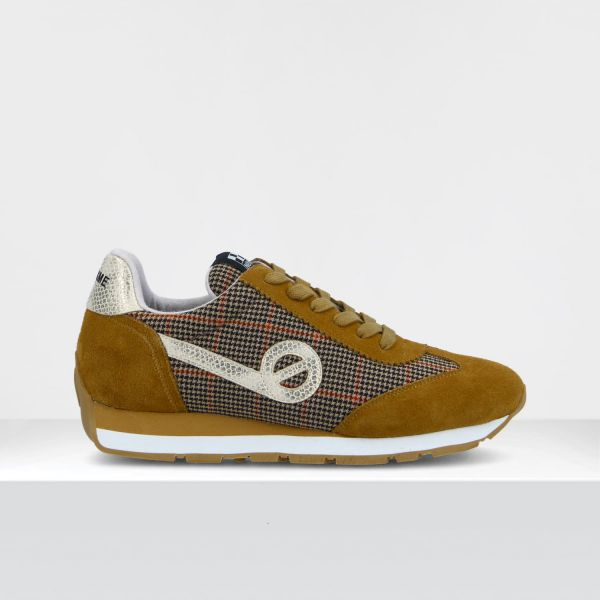 CITY RUN JOGGER - SUEDE/WILLOW - TABAC/CHESTNUT