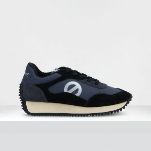 PUNKY JOGGER - SUEDE/TH.NYLON - BLACK/ANTHRACITE**WN