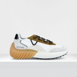 SPINNER JOGGER - H.SUEDE/DILORCY - TAN/WHITE