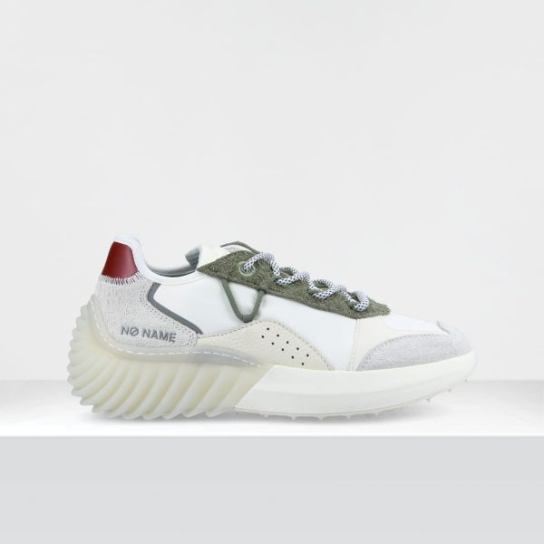 SPINNER JOGGER - H.SUEDE/DILORCY - TILLEUL/WHITE