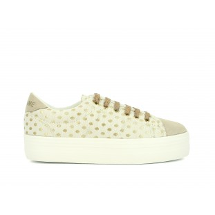 PLATO SNEAKER - MARY / SPLIT - DOVE / IVORY