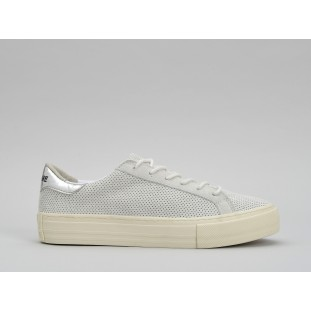 ARCADE SNEAKER - PUNCH GOAT SUED - WHITE FOX DOVE