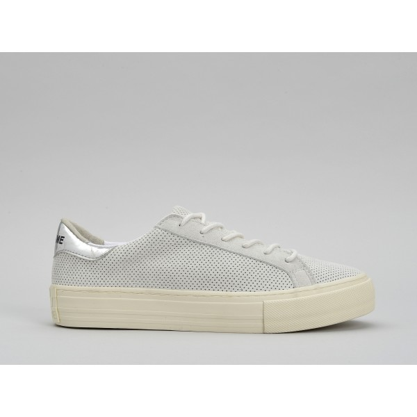 NO NAME ARCADE SNEAKER - PUNCH GOAT SUED - WHITE FOX DOVE