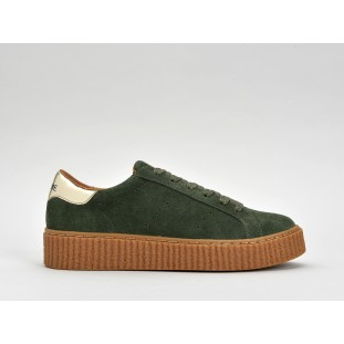 PICADILLY SNEAKER - SUEDE - CEDRE SOLE MASTIC