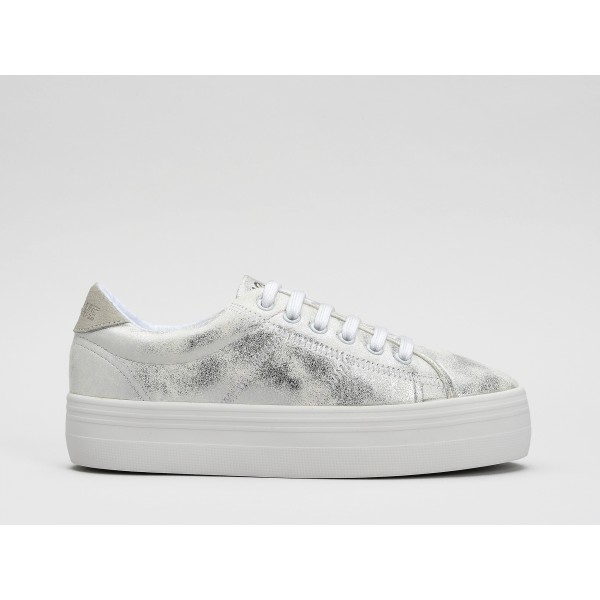 NO NAME PLATO SNEAKER - GRAVITY - WHITE FOX WHITE