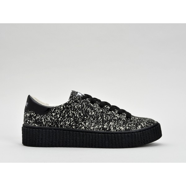 NO NAME PICADILLY SNEAKER - CLOUD - BLACK SOLE BLACK