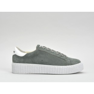 PICADILLY SNEAKER - SUEDE - TUNDRA SOLE WHITE