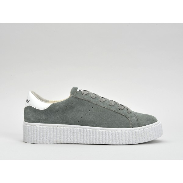 NO NAME PICADILLY SNEAKER - SUEDE - TUNDRA SOLE WHITE