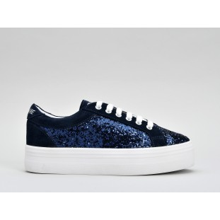 PLATO BRIDGE - FLASH / SUEDE - NAVY