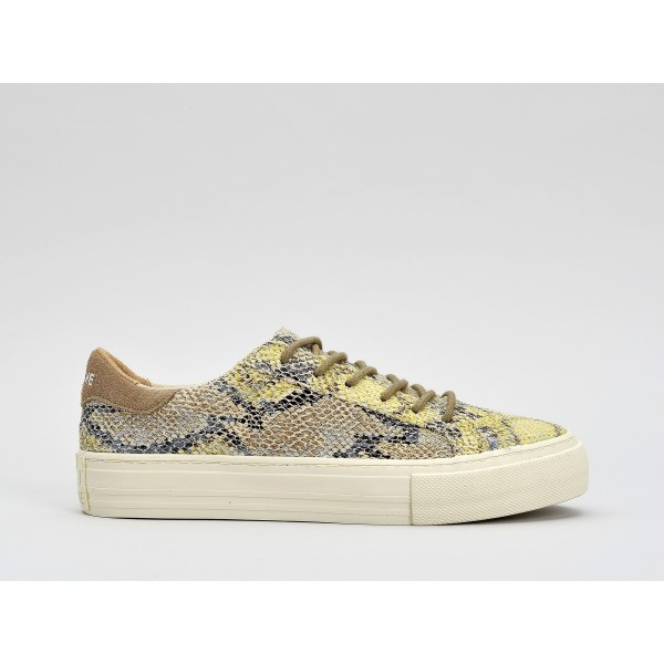 NO NAME ARCADE SNEAKER - BOALO - YELLOW FOX DOVE