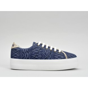 PLATO SNEAKER - MANTRA - NAVY FOX WHITE