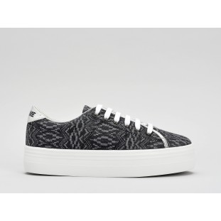 PLATO SNEAKER - MANTRA - BLACK FOX WHITE