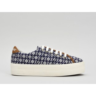 PLATO SNEAKER - ATARI - BLUE FOX OFF WHITE