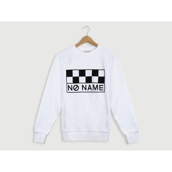 NO NAME CLASSIC SWEAT SHIRT - COTON - WHITE