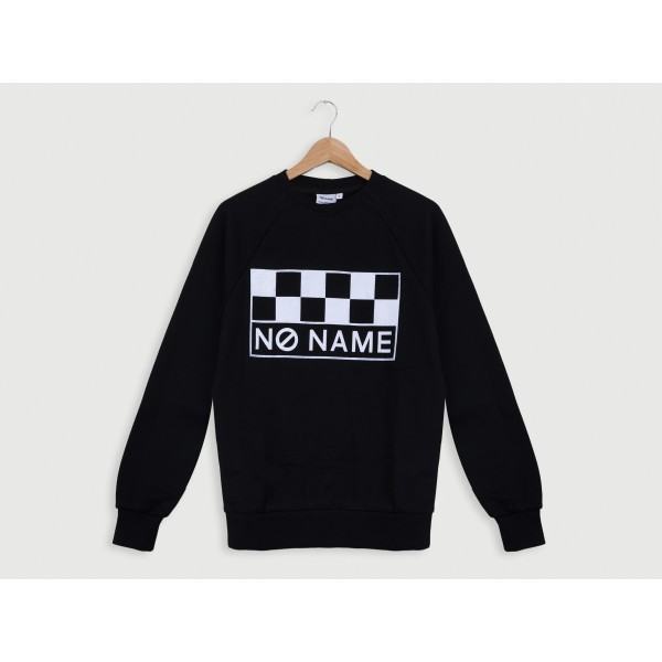 NO NAME CLASSIC SWEAT SHIRT - COTON - BLACK