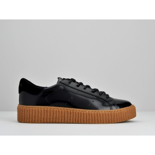 PICADILLY SNEAKER - BOX - BLACK SOLE MASTIC