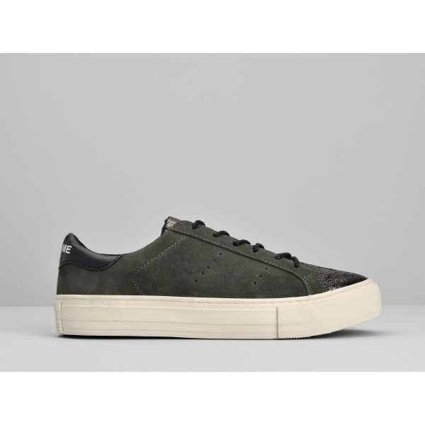 NO NAME ARCADE SNEAKER - ETNA/GOAT SUEDE - CHARBON/SEQUOIA
