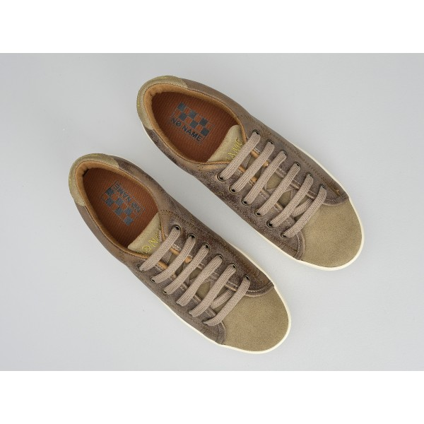 NO NAME PLATO SNEAKER - SUEDE/GLOOM - ANTILOPE/BRONZE