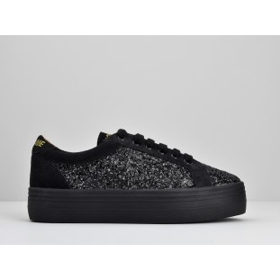 PLATO BRIDGE - FLASH/SUEDE - BLACK/BLACK