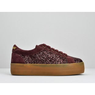PLATO BRIDGE - FLASH/SUEDE - BORDEAUX/BORDEAUX