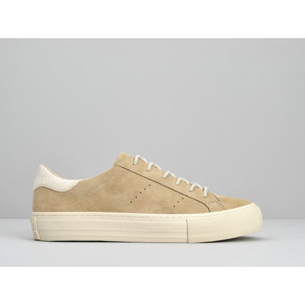 NO NAME ARCADE SNEAKER - GOAT SUEDE - COTON FOX DOVE