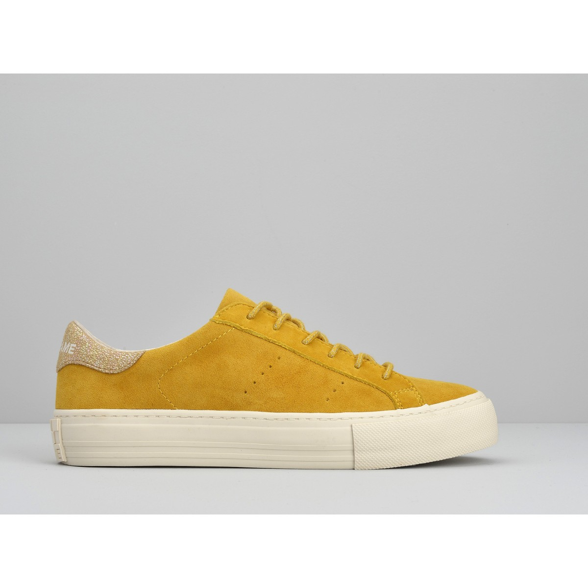 No Name ARCADE SNEAKER - GOAT SUEDE - HONEY FOX DOVE