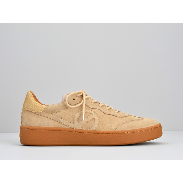 NO NAME GAME SNEAKER - GOAT SUEDE - COTON SOLE MASTIC