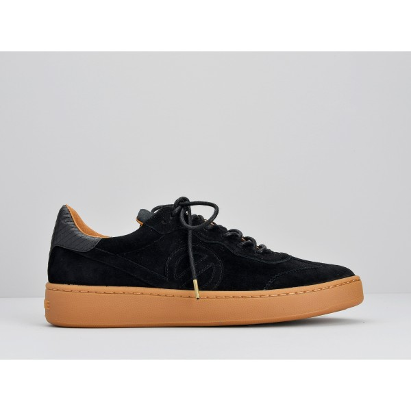 NO NAME GAME SNEAKER - GOAT SUEDE - BLACK SOLE MASTIC