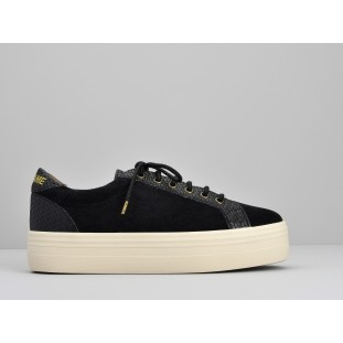 Plato Bridge - Suede / Braid - Black