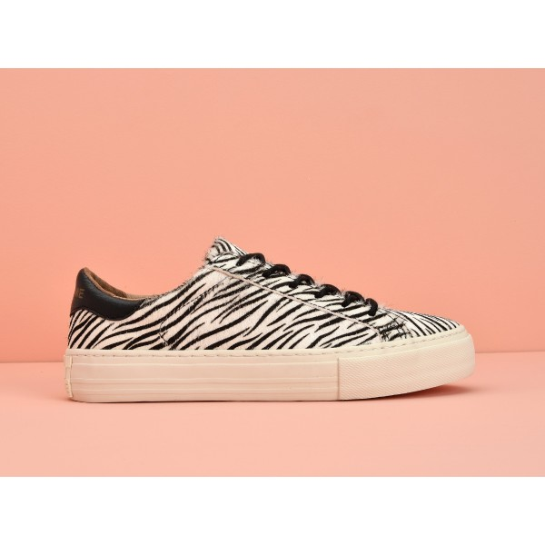 NO NAME Arcade Sneaker - Pony Zebra - Black