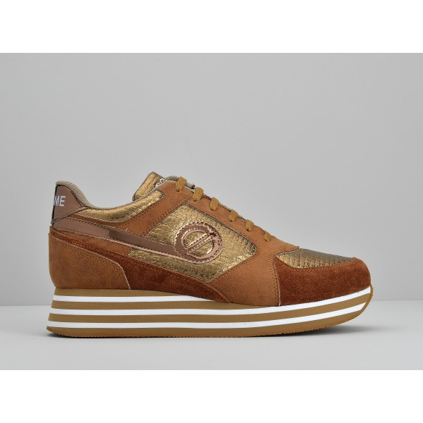NO NAME PARKO JOGGER - PLAY/SUEDE - BRONZE/DEEP COGNAC