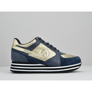 PARKO JOGGER - PLAY/SUEDE - GOLD/NIGHT BLUE