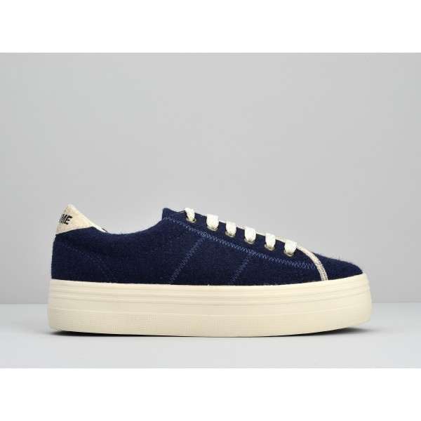 NO NAME PLATO SNEAKER - WAKE - NAVY FOX DOVE