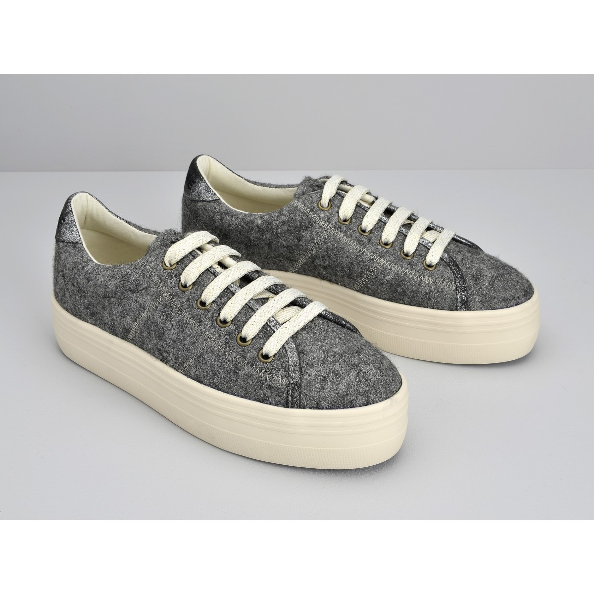 No Name PLATO SNEAKER - WAKE - GREY FOX DOVE