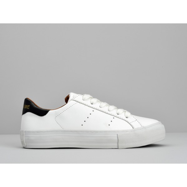 NO NAME ARCADE SNEAKER - ALTEZZA LEATHER - WHITE FOX WHITE