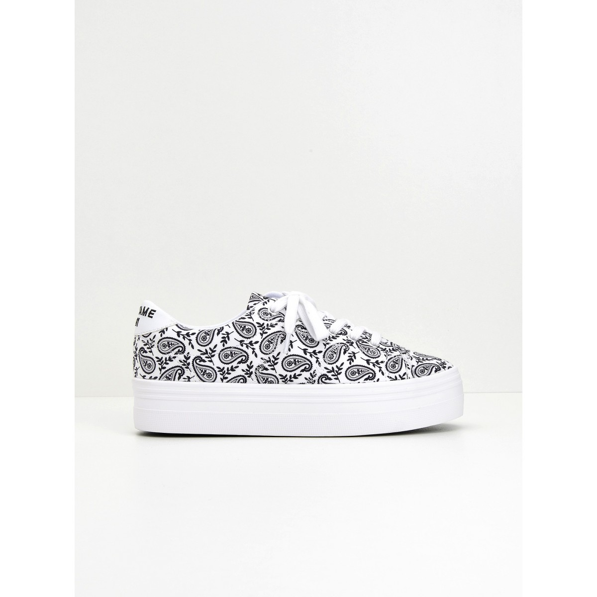 No Name Plato Sneaker - Bandana - White