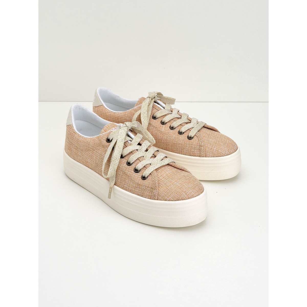 No Name Plato Sneaker - Fortune - Peach