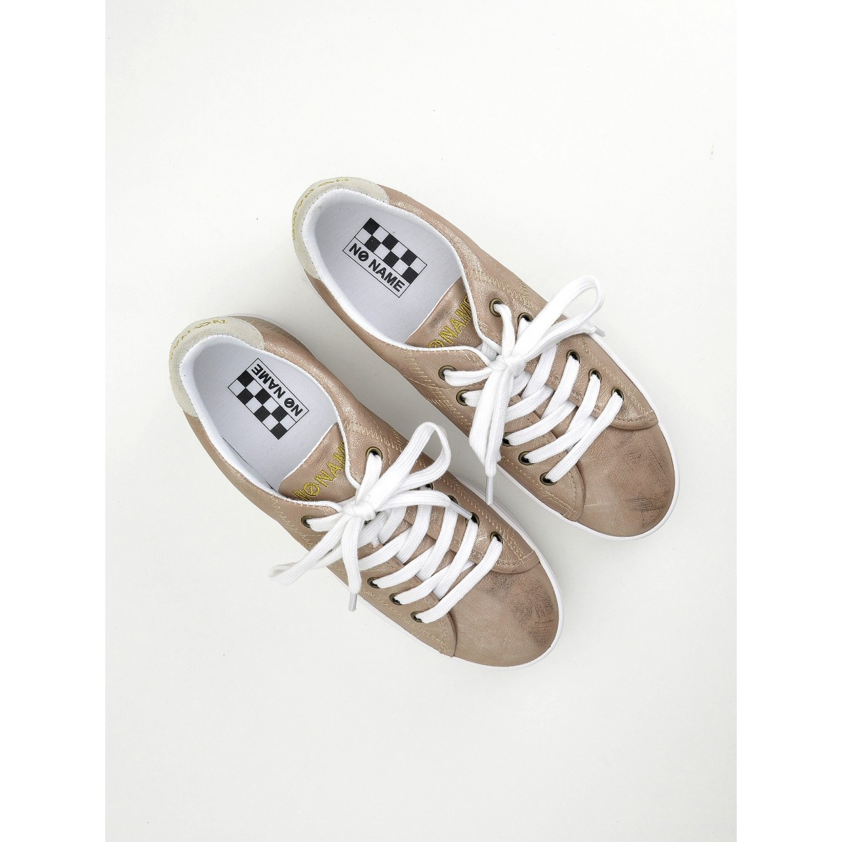 No Name Plato Sneaker - After - Poudre