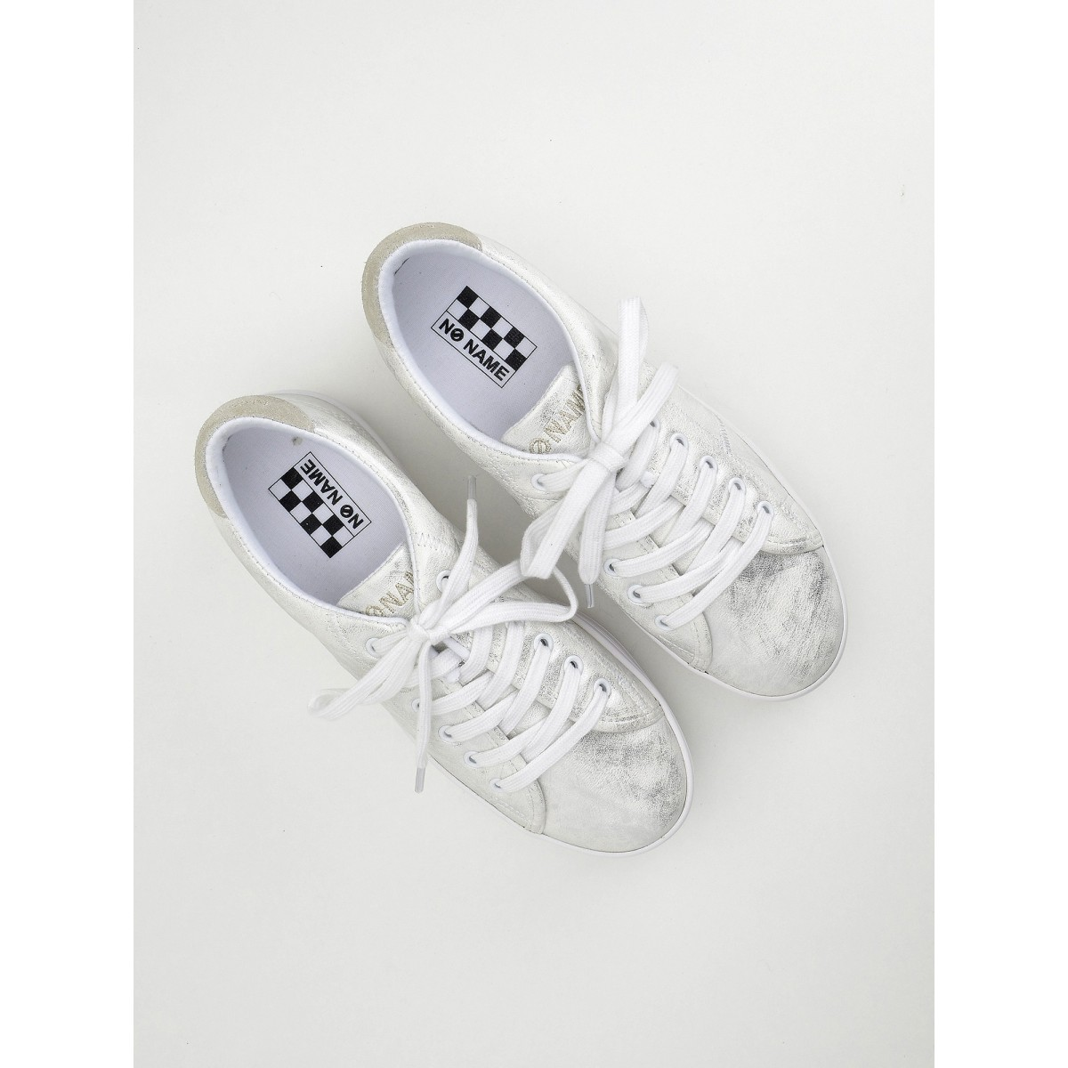 No Name Plato Sneaker - After - Silver