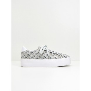 Plato Sneaker - Print Tiger - Light Grey