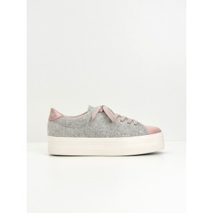 Plato Sneaker - Beam/Cotton Rib - Pink/Grey