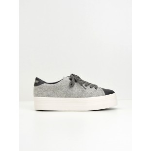 Plato Sneaker - Beam/Cotton Rib - Grey/Grey