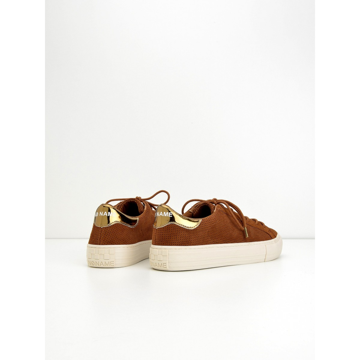 No Name Arcade Sneaker - Punch Goat Sued - Brandy