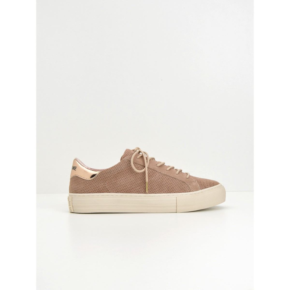 No Name Arcade Sneaker - Punch Goat Sued - Dragee