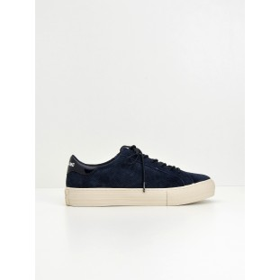 Arcade Sneaker - Punch Goat Sued - Navy