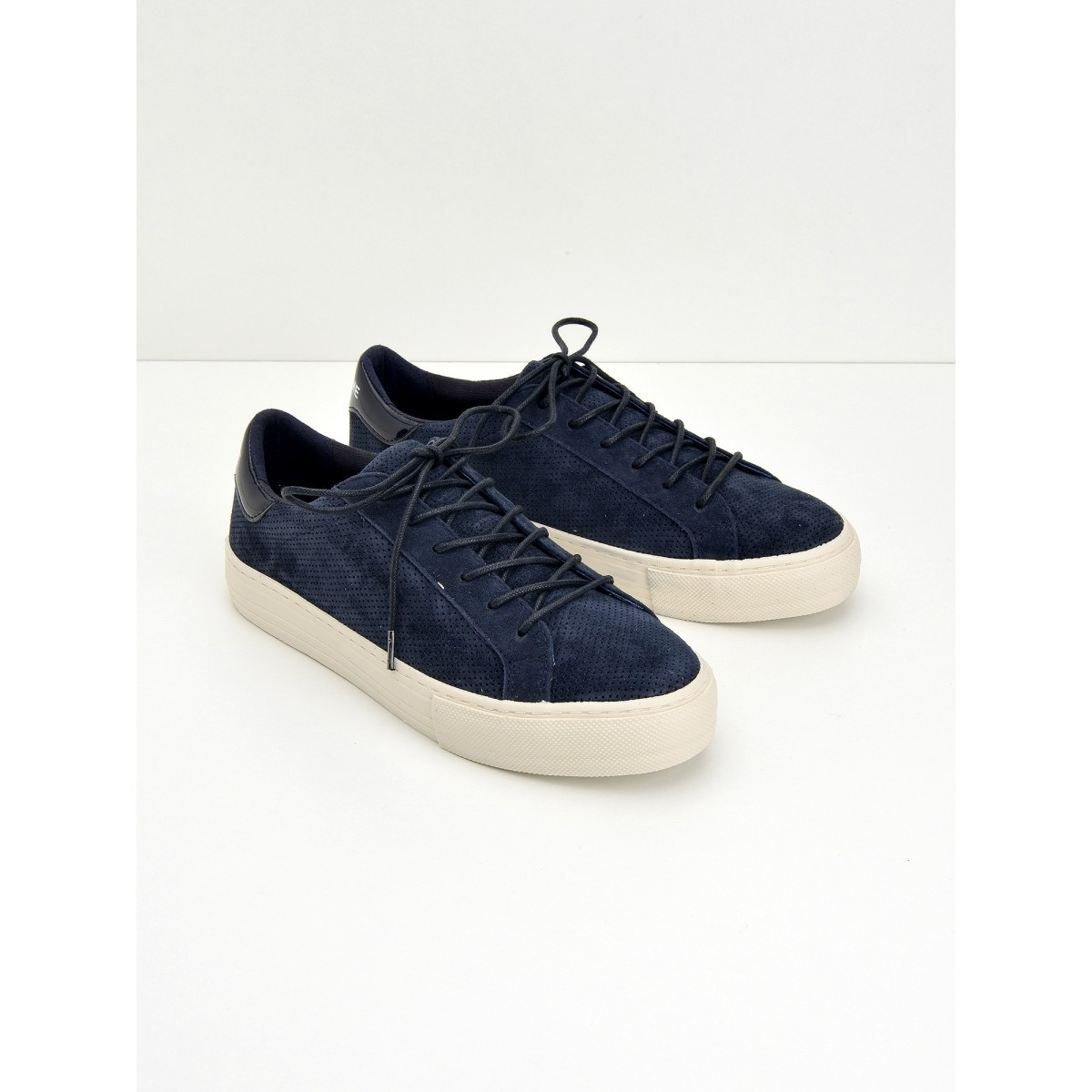 No Name Arcade Sneaker - Punch Goat Sued - Navy