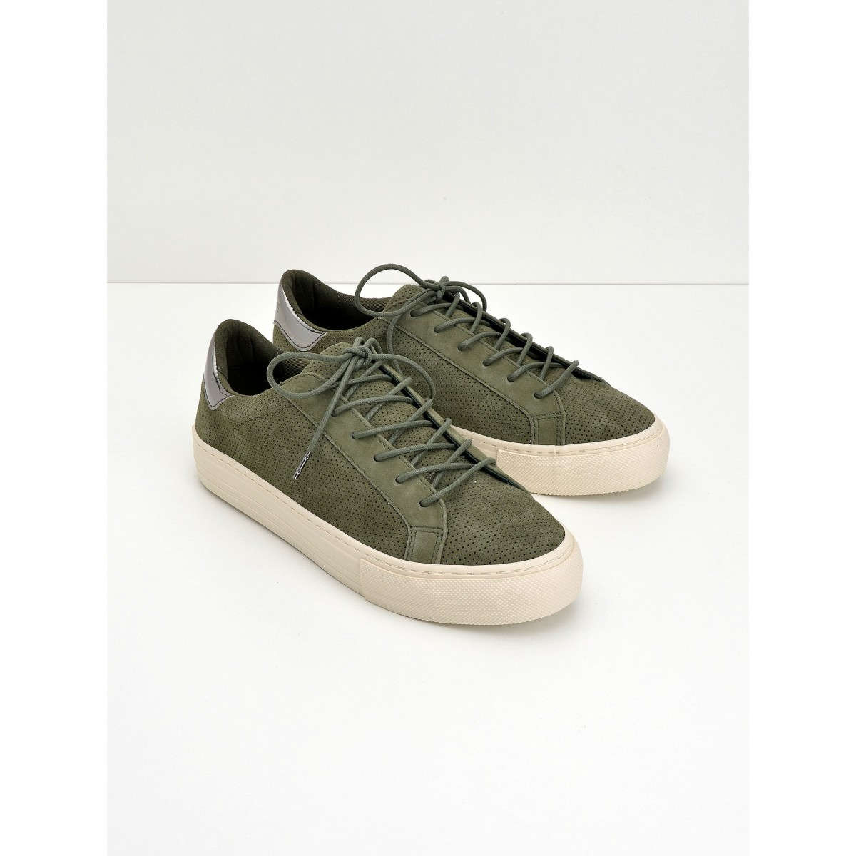 No Name Arcade Sneaker - Punch Goat Sued - Mint
