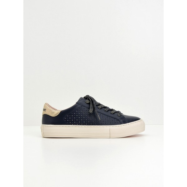 NO NAME Arcade Sneaker - Pump Perfos - Navy